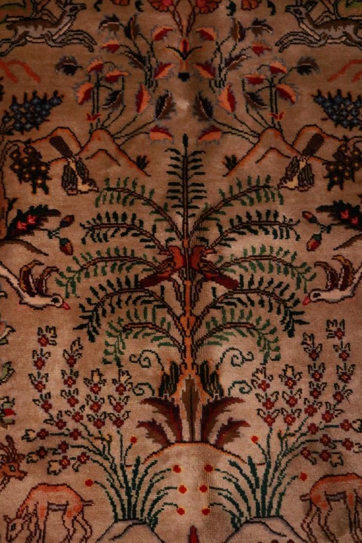 Persian Pictorial Carpet - 4