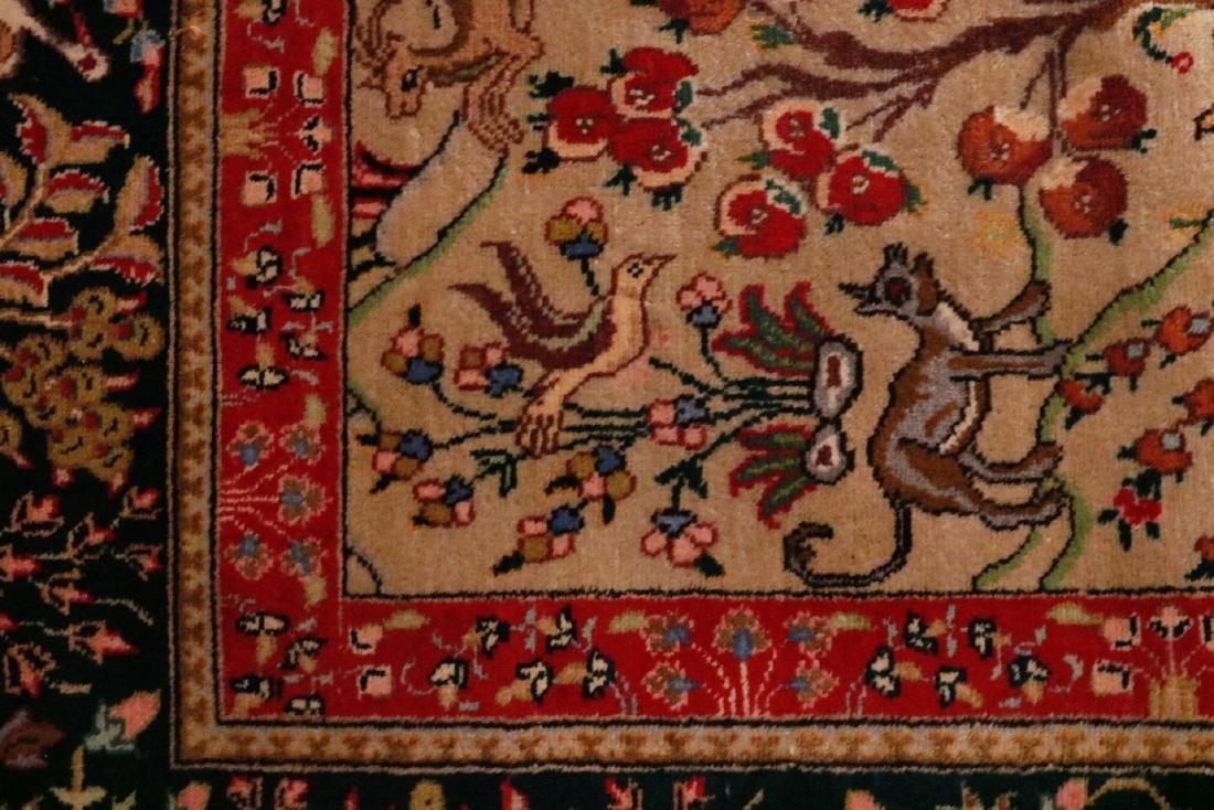 Persian Pictorial Carpet - 7