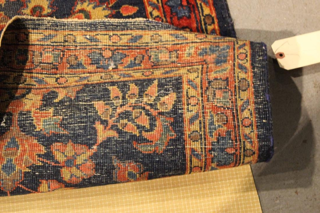 Two Sarouk Style Throw Rugs - 8