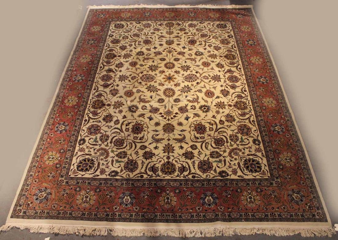 Sarouk Style Carpet