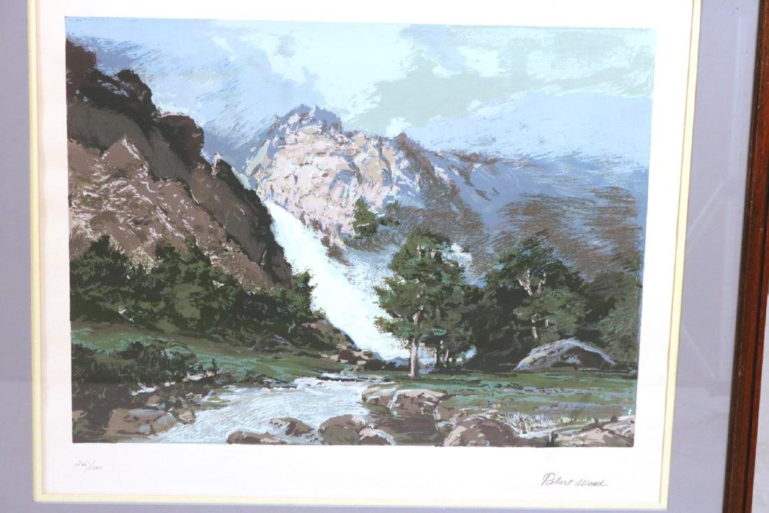 Six Robert Woods Serigraphs, National Parks - 5