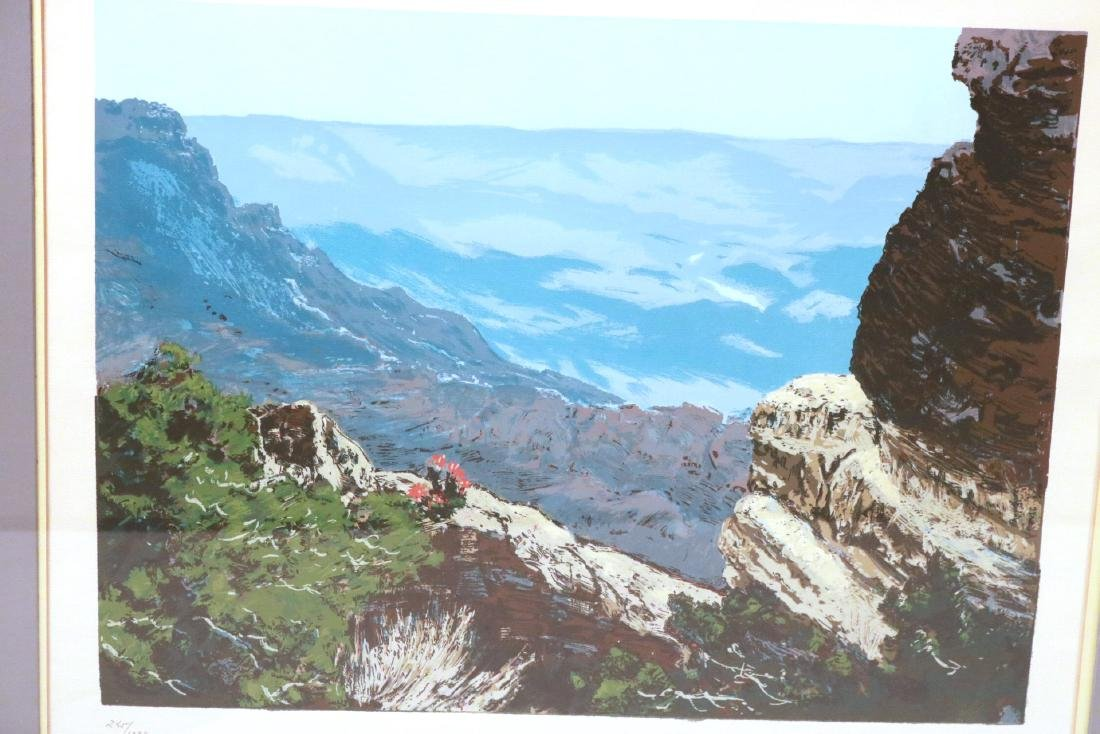 Six Robert Woods Serigraphs, National Parks - 7