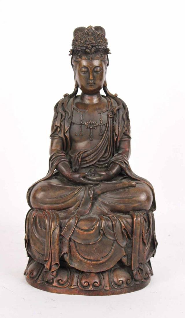 Bronze Seated Budda