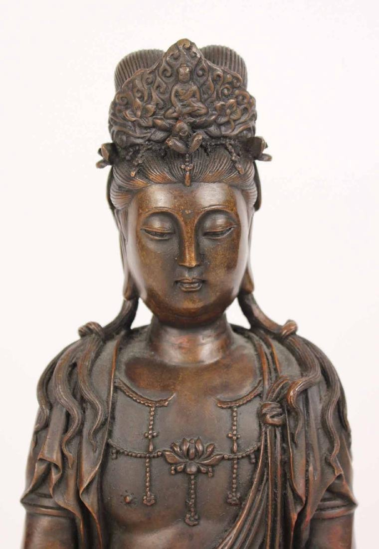 Bronze Seated Budda - 2