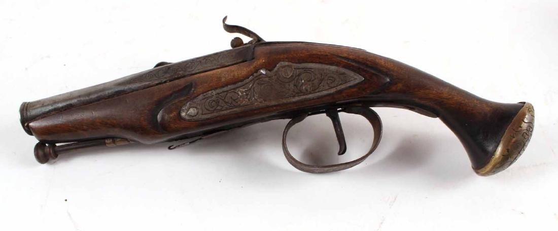 Continental Flint Lock Pistol - 6