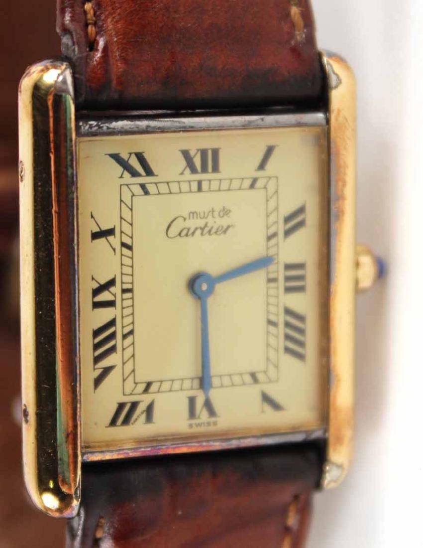 Must de Cartier Vermeil Quartz Tank Watch - 2