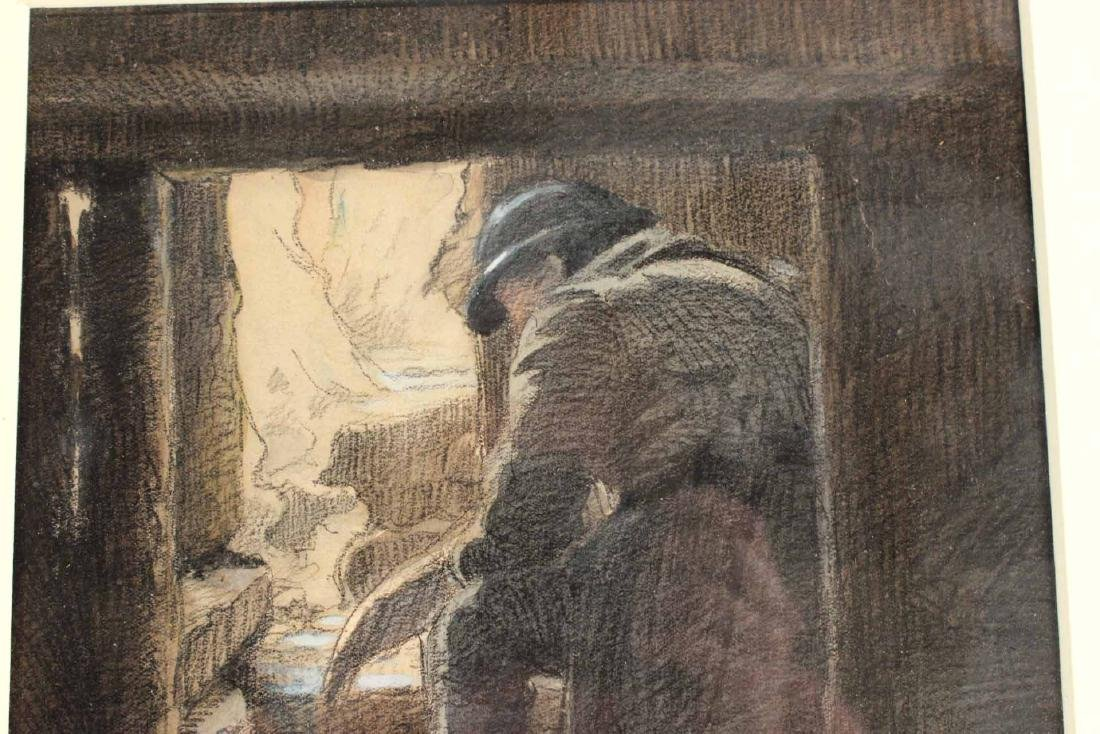 Pastel on Paper, French Military - 4