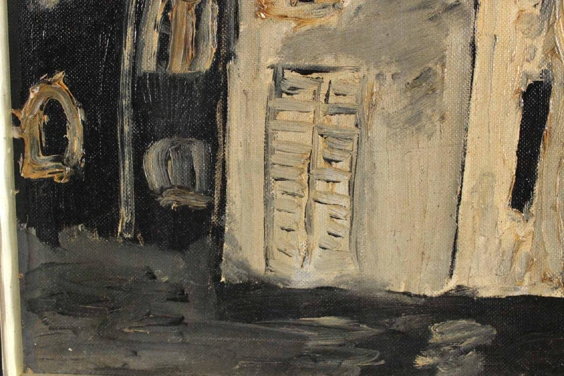 Oil on Board, Stage Set, Arnold Citron - 4