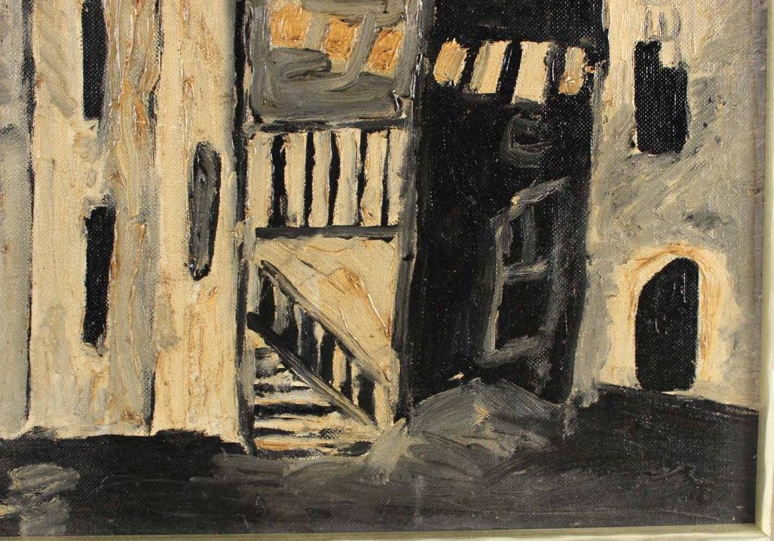 Oil on Board, Stage Set, Arnold Citron - 5