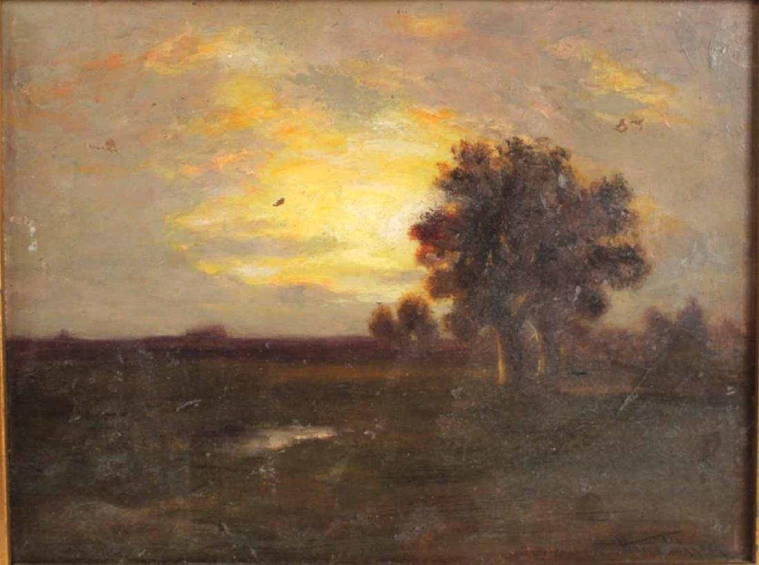 Oil on Board, Landscape, Harry Johnson - 2