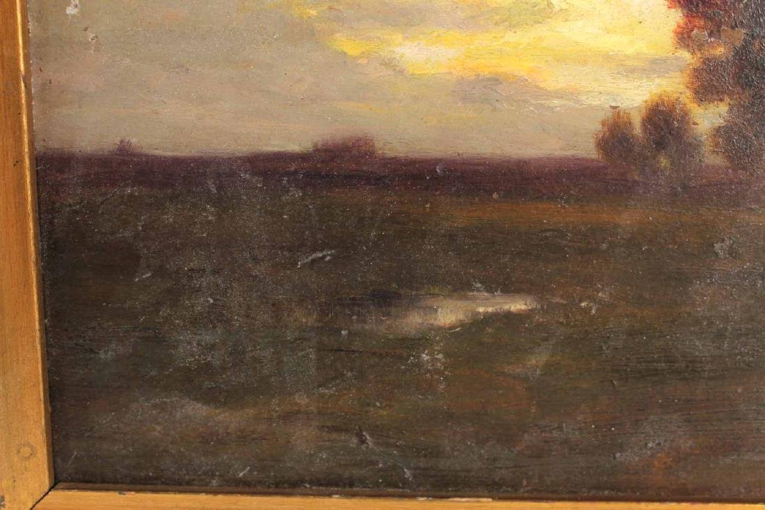 Oil on Board, Landscape, Harry Johnson - 5