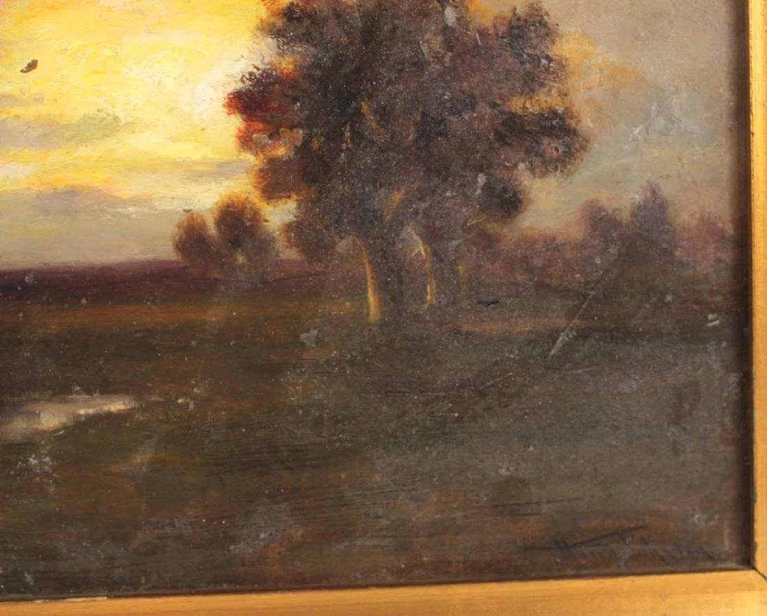 Oil on Board, Landscape, Harry Johnson - 6