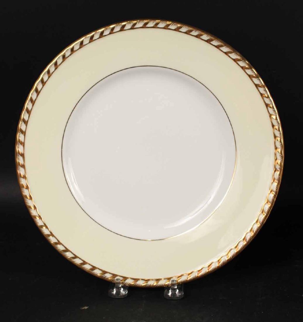 "Minton ""Commodore"" Pattern Dinner Plates - 2"