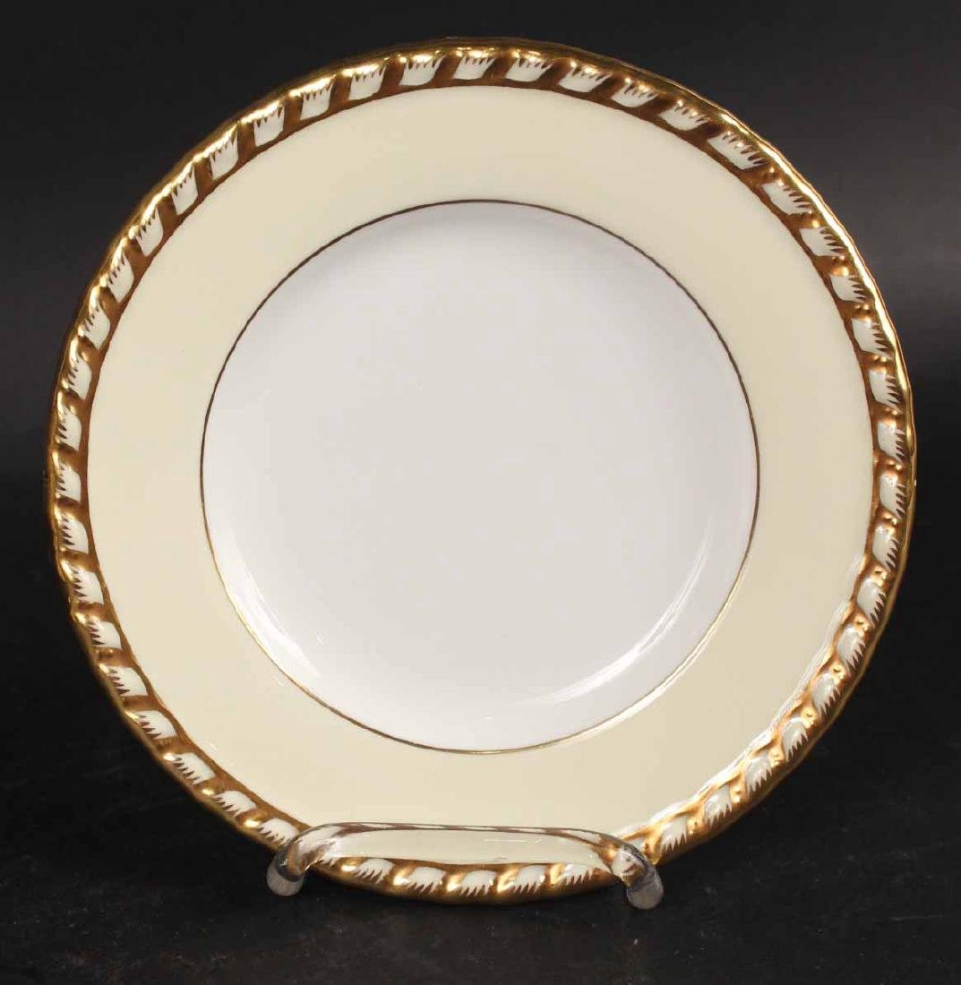 "Minton ""Commodore"" Pattern Dinner Plates - 7"