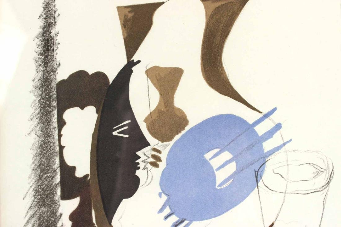 Abstract Polychrome Print with Vases - 4