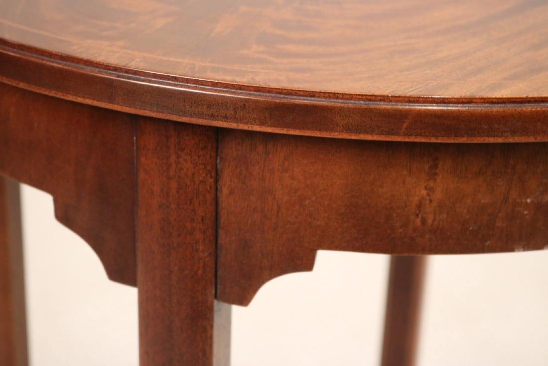 Federal Style Inlaid Round Occasional Table - 5