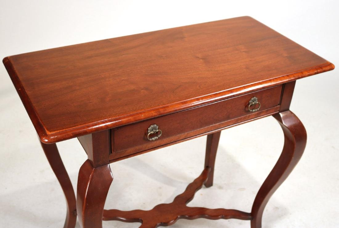 Hickory Chair Mahogany One Drawer Pier Table - 2
