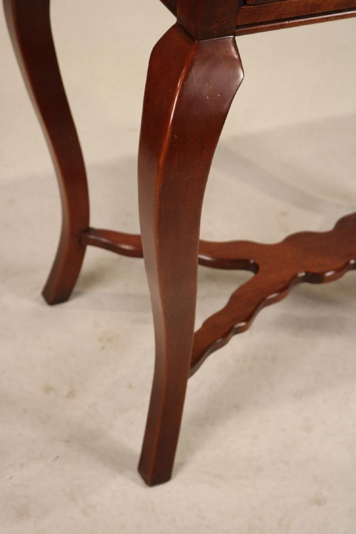Hickory Chair Mahogany One Drawer Pier Table - 4