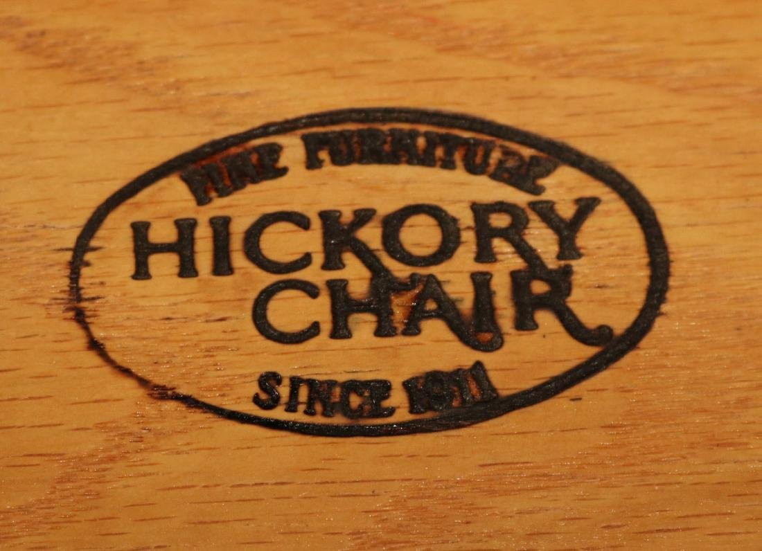 Hickory Chair Mahogany One Drawer Pier Table - 7