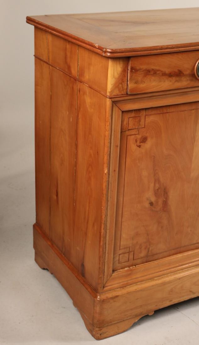 Beidermeier Inlaid Walnut Low Cabinet - 2