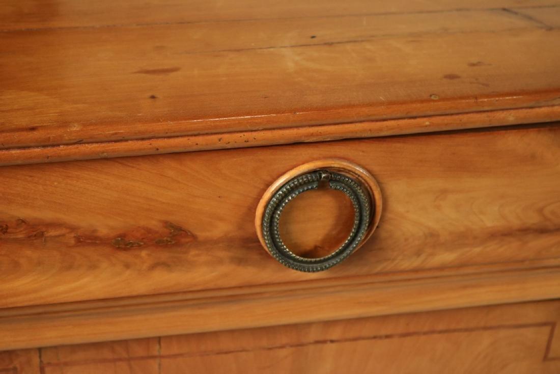 Beidermeier Inlaid Walnut Low Cabinet - 3