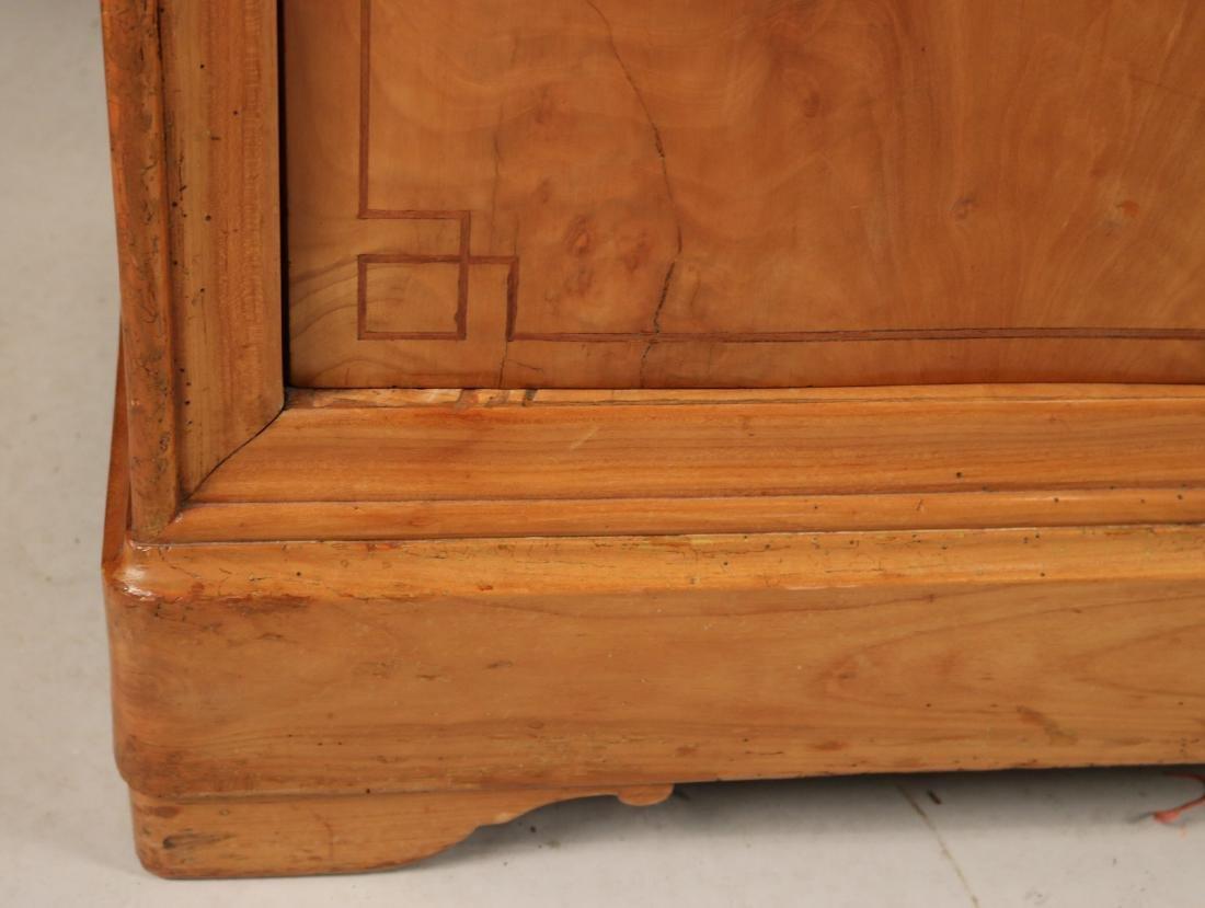Beidermeier Inlaid Walnut Low Cabinet - 4