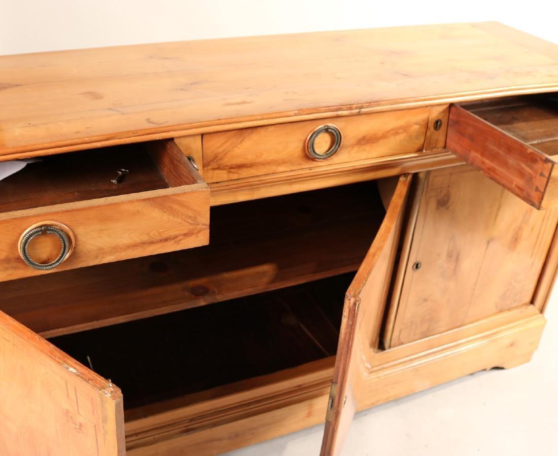 Beidermeier Inlaid Walnut Low Cabinet - 5