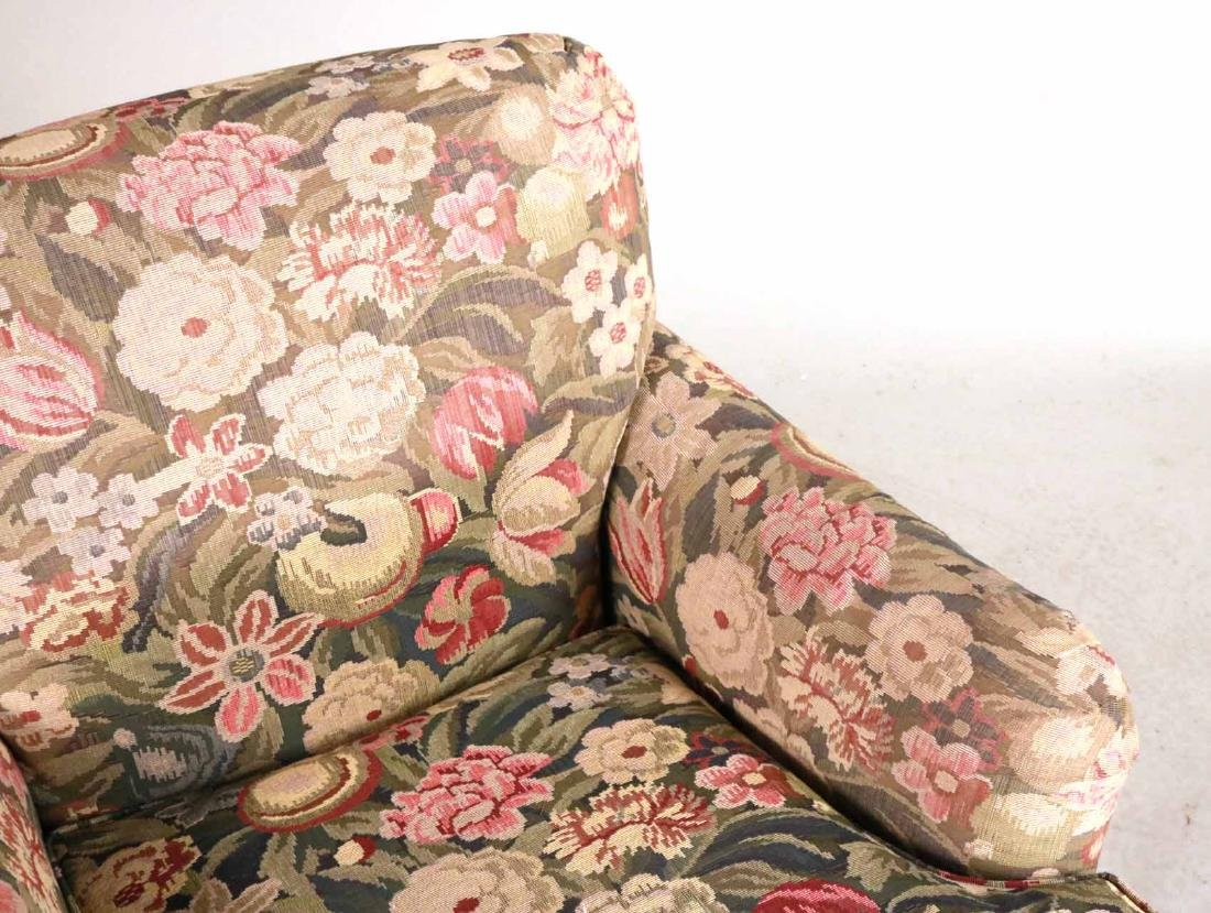 Pair of Floral-Upholstered Club Chairs - 3