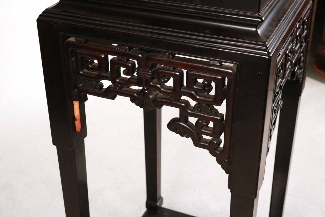 Chinese Ebonized Display Cabinet - 2