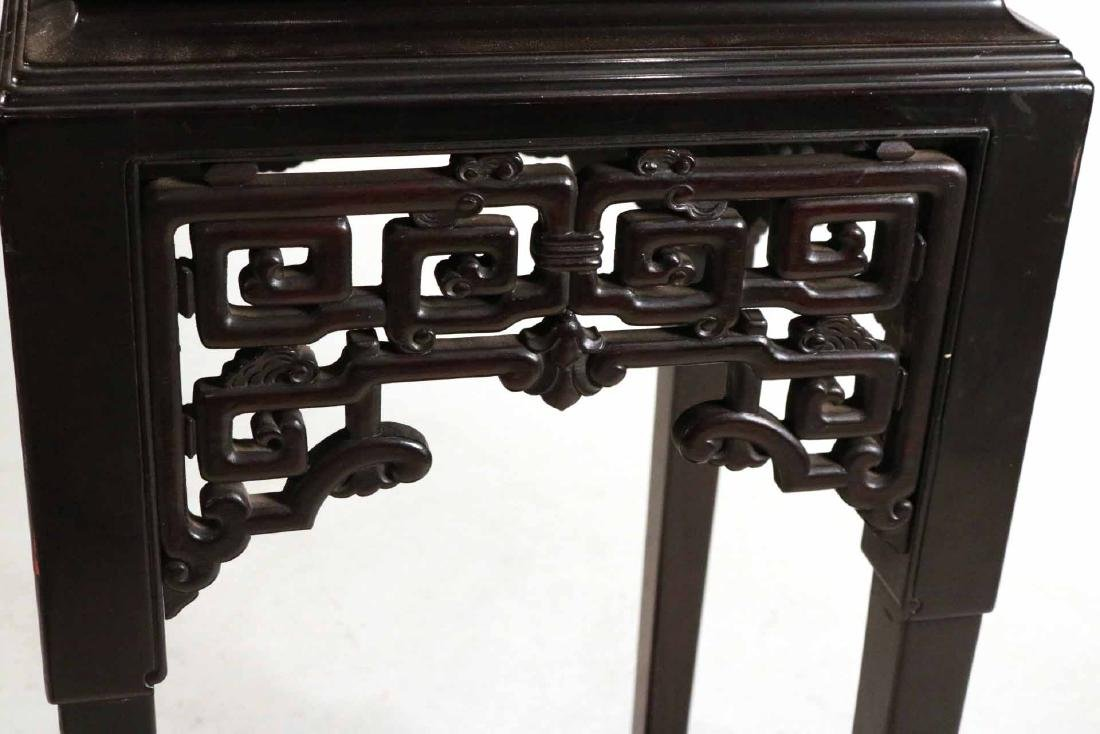 Chinese Ebonized Display Cabinet - 4
