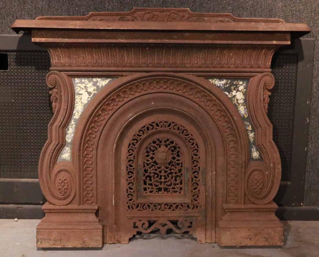 Cast-Iron Fireplace Mantel