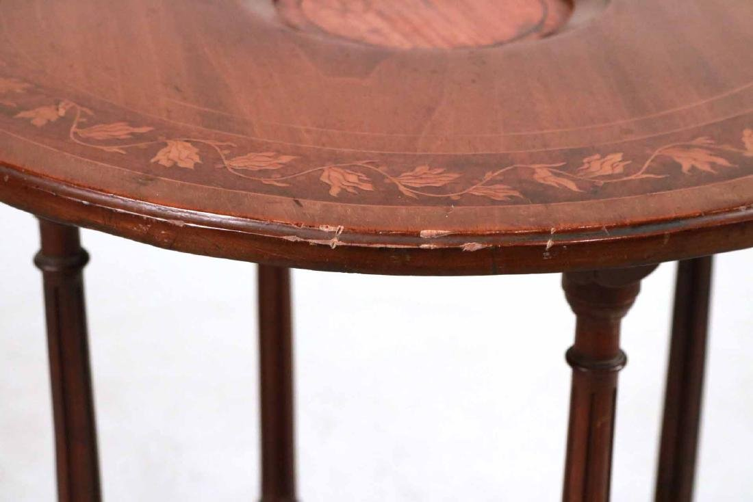 Regency Style Inlaid Mahogany Wash Stand - 3
