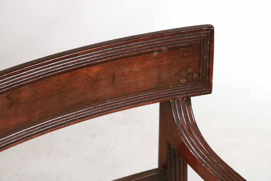 Eight Federal Style Mahogany Dining Chairs - 6