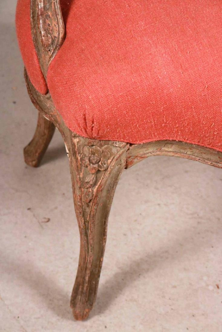 Louis XV Style White-Painted Fauteuil - 2