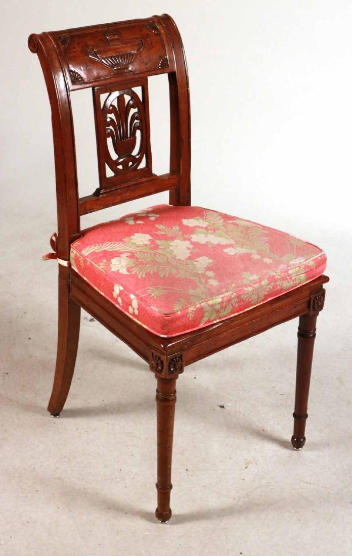 Louis XV Style Gold-Painted Side Chair - 7