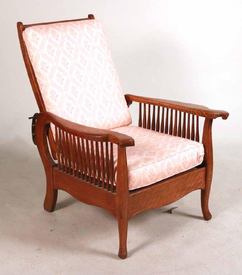 Mission Oak Club Chair