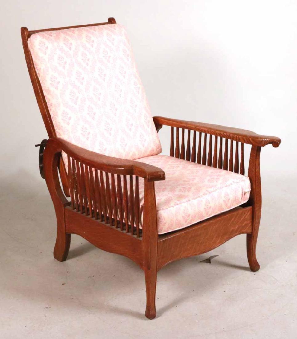 Mission Oak Club Chair