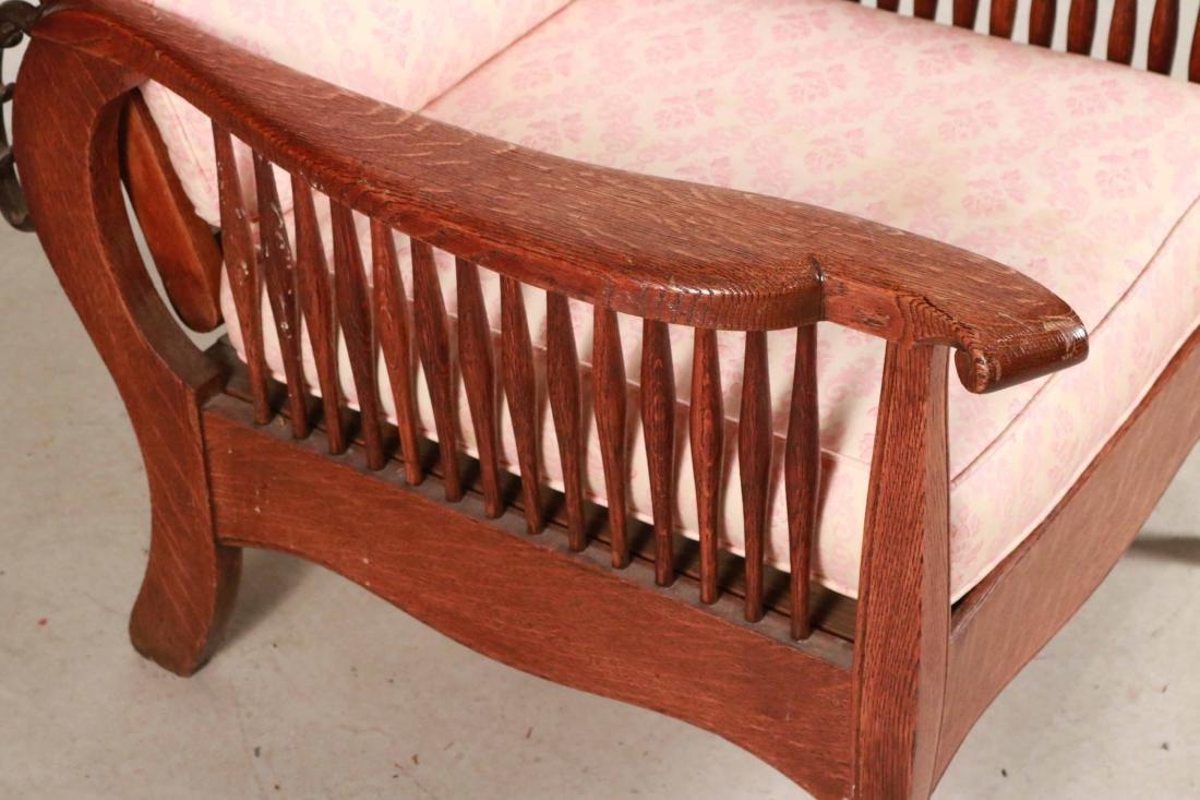 Mission Oak Club Chair - 2