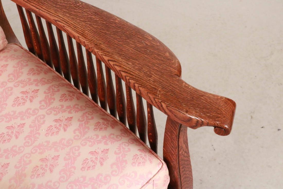 Mission Oak Club Chair - 3