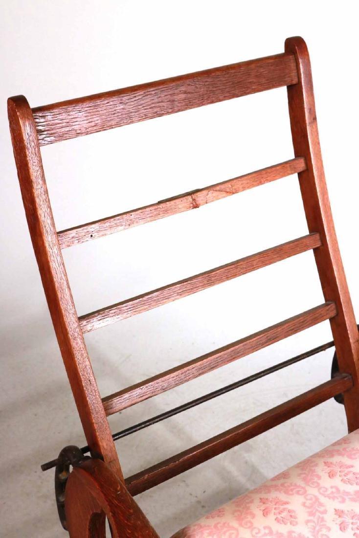 Mission Oak Club Chair - 5