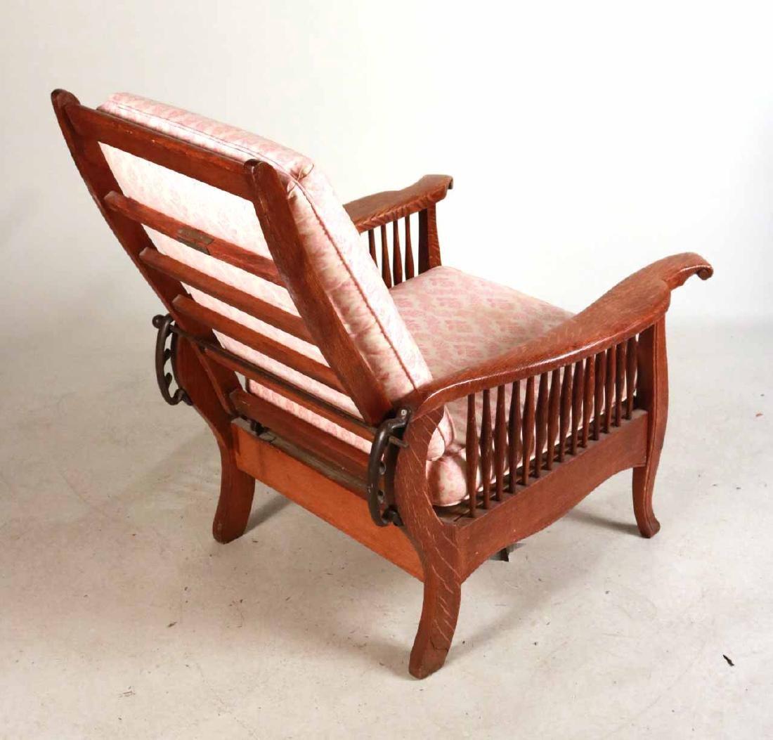 Mission Oak Club Chair - 7