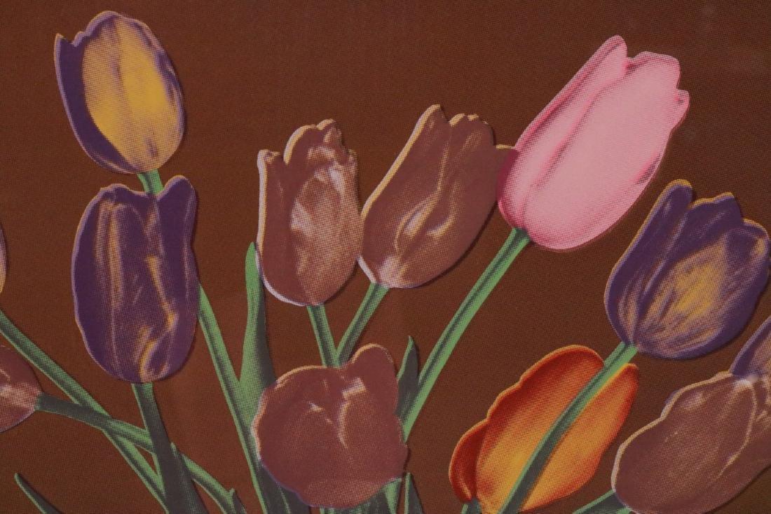 Silkscreen Print, Tulip Still Life - 3