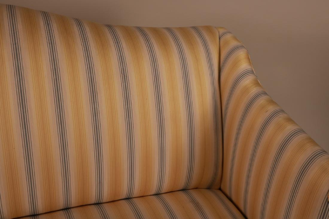 Federal Style Mahogany Settee - 5