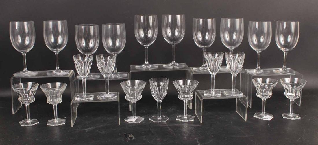 Eleven Baccarat Goblets