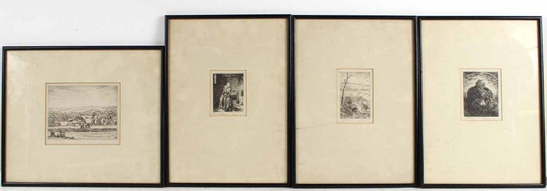 Four Engravings, Ludwig Schwerin