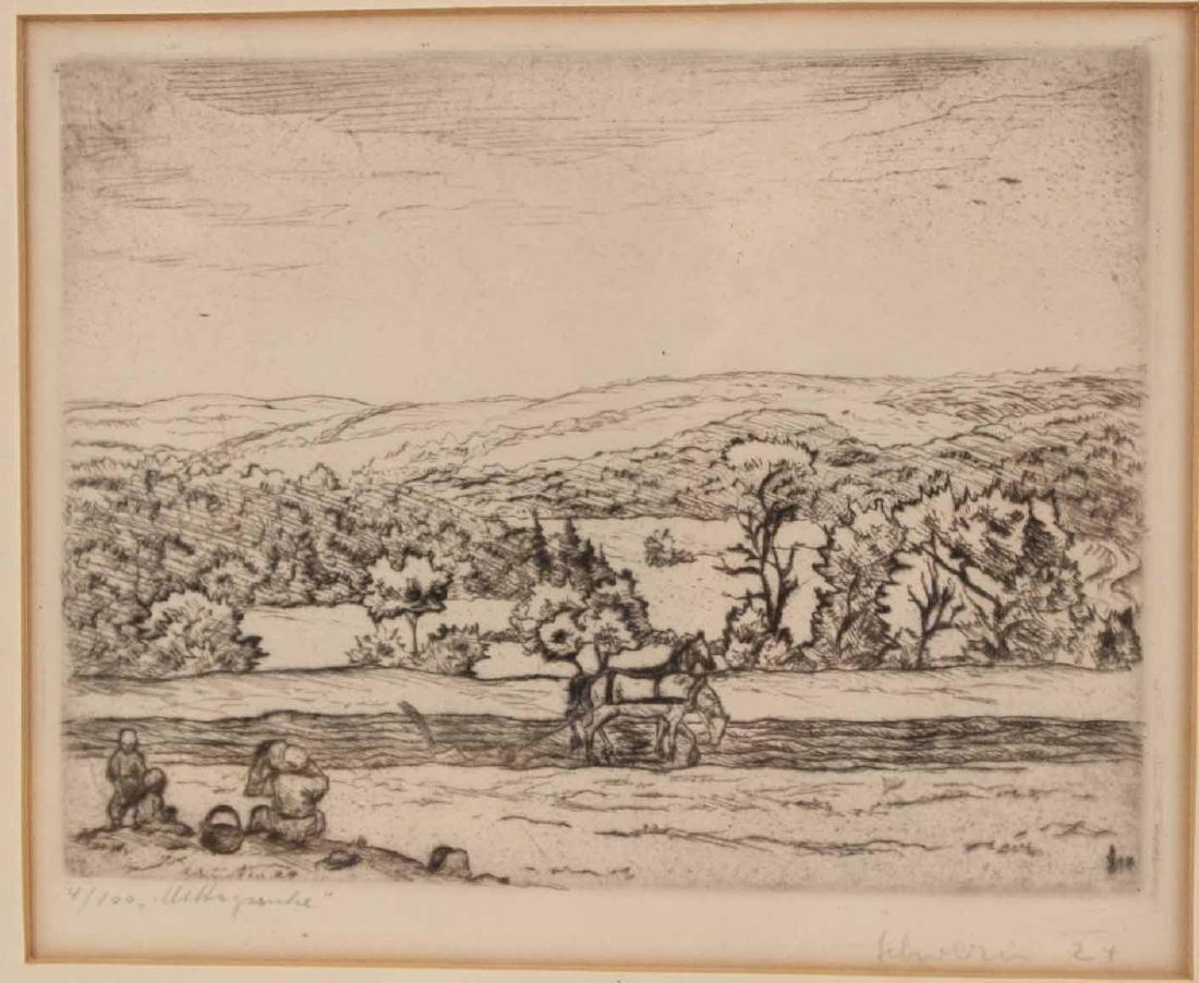 Four Engravings, Ludwig Schwerin - 2