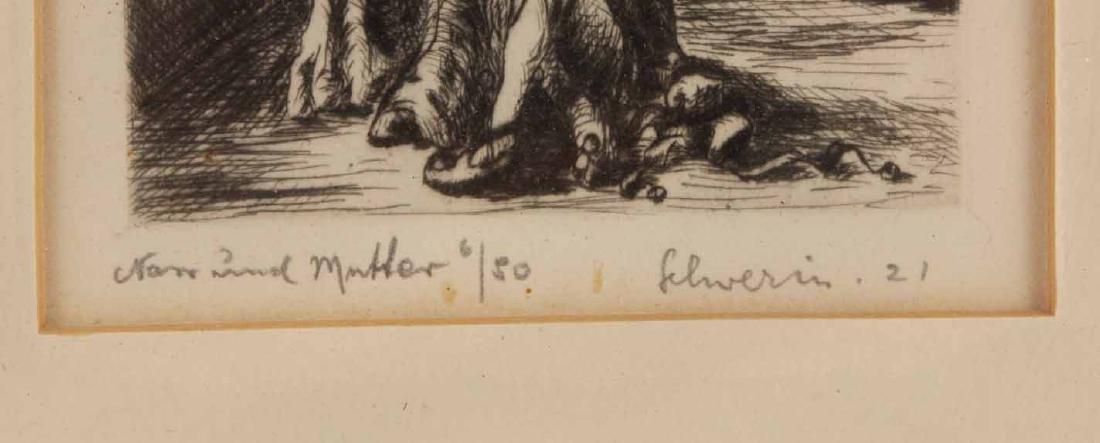 Four Engravings, Ludwig Schwerin - 5