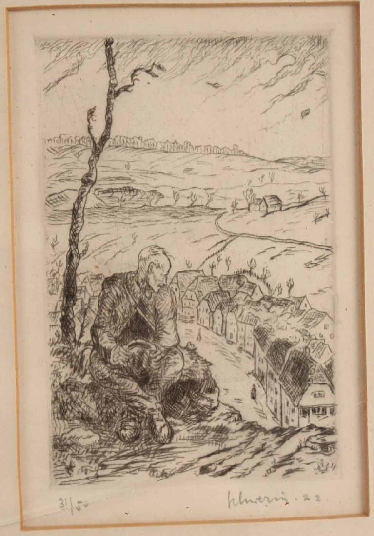 Four Engravings, Ludwig Schwerin - 6