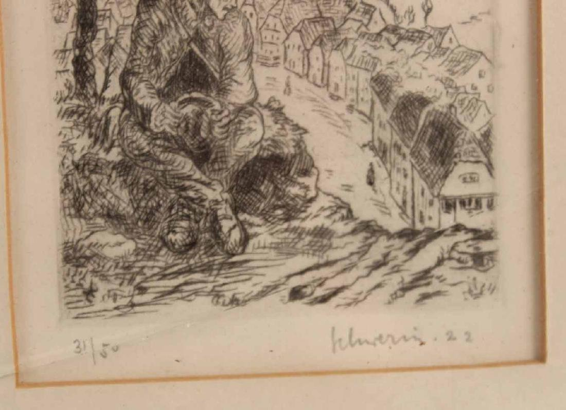 Four Engravings, Ludwig Schwerin - 7
