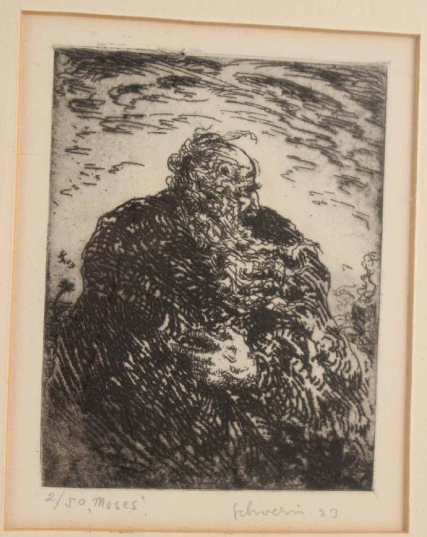 Four Engravings, Ludwig Schwerin - 8